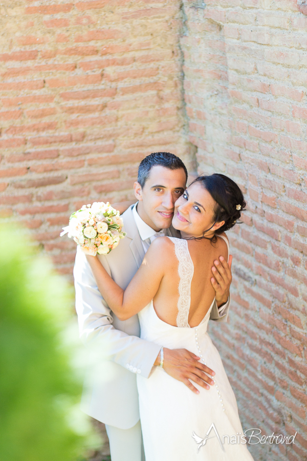 photo mariage, Anaïs Bertrand photographe mariage et famille Toulouse