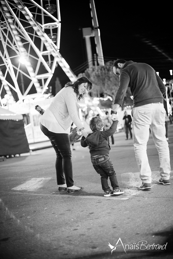 Séance fête-foraine, Toulouse, Anaïs Bertrand photographe famille et enfant