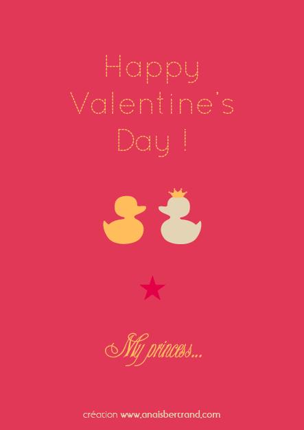 Carte Saint Valentin Mrs_création AnaïsBertrand