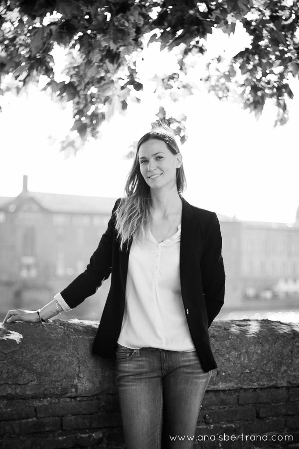 Portrait professionnel, Anaïs Bertrand photographe Toulouse