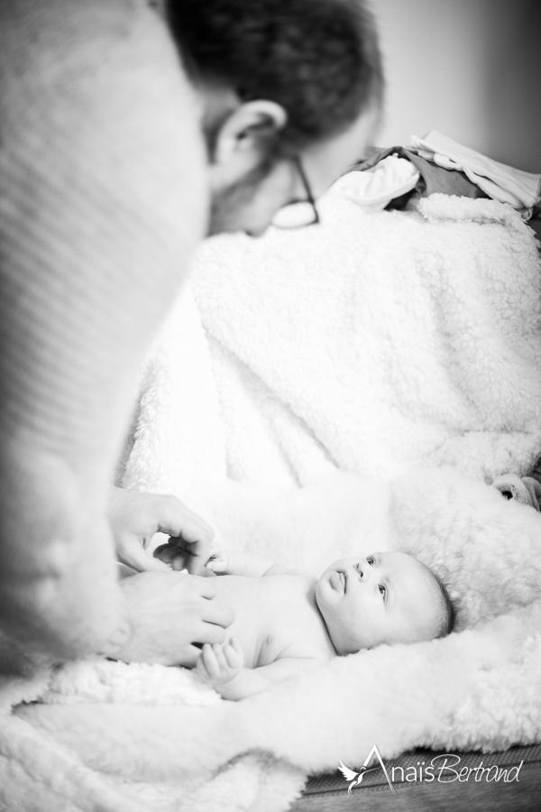 séance naissance Toulouse, Anaïs Bertrand photographe famille