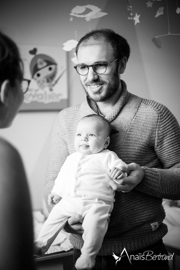séance naissance Toulouse - Anais Bertrand photographe naissance et famille