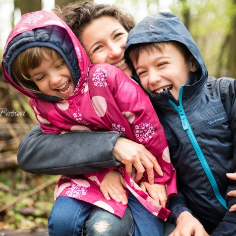 Comment s'amuser en famille sous la pluie