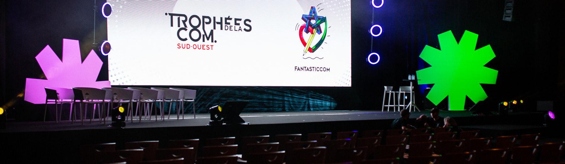 Reportage photo des Trophées de la Com - Fantasticcom